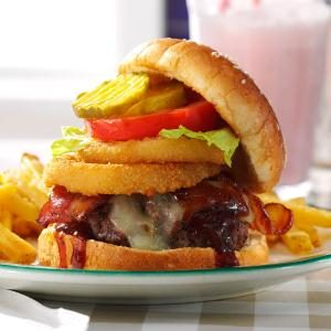 BBQ Bacon Burger Recipe