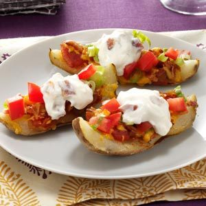 Crispy Potato Skins Recipe