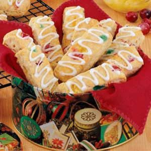 Festive Biscuit Strips Recipe