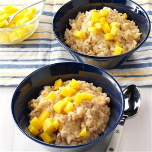Mango Rice Pudding Recipe