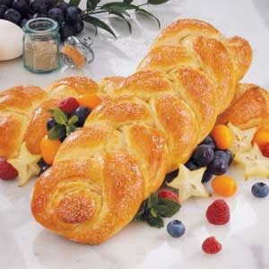 Norwegian Cardamom Bread Braids