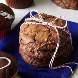 Jumbo Brownie Cookies
