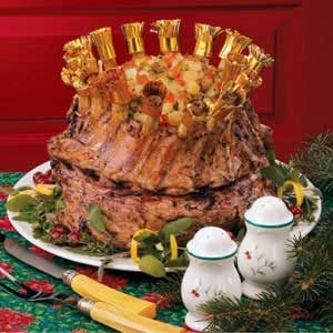 Crown Roast of Pork with Stuffing Recipe