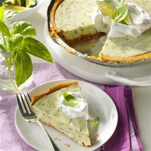 Lime Basil Pie Recipe