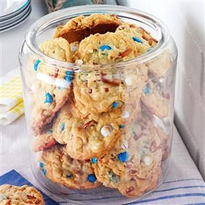 Loaded-Up Pretzel Cookies