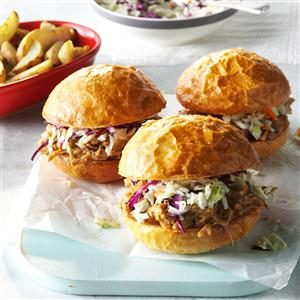 PB&J Pork Sandwiches Recipe