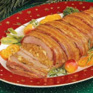 Bacon Wrapped Pork Tenderloin Recipe