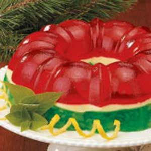 Christmas Gelatin Ring Recipe