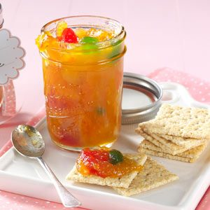 Apricot & Maraschino Cherry Preserves Recipe