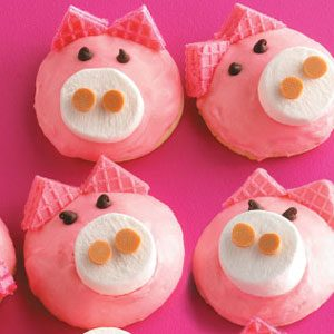 Cute Pig Cookies Recipe