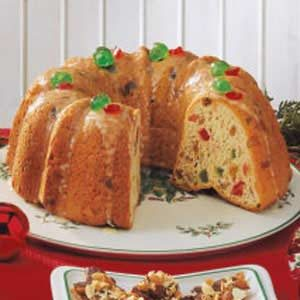 Light Candied Fruitcake Recipe
