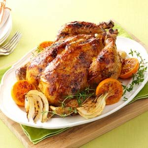 Citrus-Spiced Roast Chicken Recipe