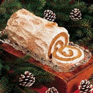 Gingerbread Yule Log Recipe