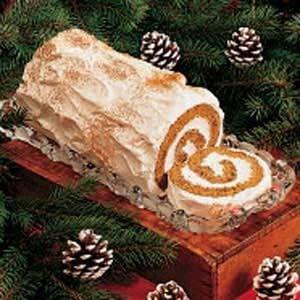 Gingerbread Yule Log Recipe