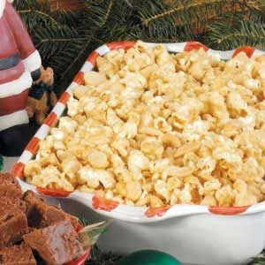Nutty Popcorn Party Mix Recipe