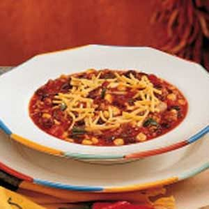 Black Bean Sausage Chili Recipe
