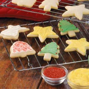 Sugar Cookie Cutouts Recipe