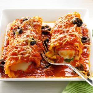 Pizza-Style Manicotti Recipe photo by Taste of Home