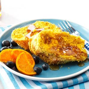 Crunchy Baked French Toast Recipe