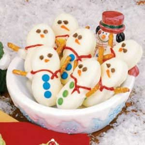 Snowmen Cookies Recipe