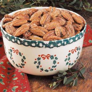 Easy Spiced Pecans Recipe