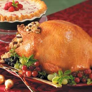 Turkey with Apple Stuffing Recipe