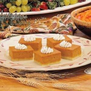 Pumpkin Shortbread Dessert Recipe