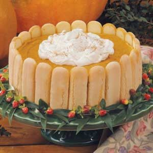 Pumpkin Charlotte Recipe