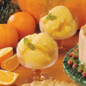 Refreshing Orange Ice Recipe