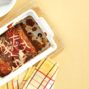 Italian Pizza Meat Loaf Recipe