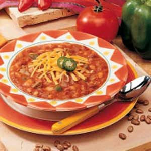 Chunky Beef Chili Recipe