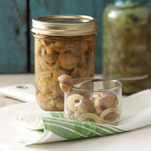 Tangy Pickled Mushrooms Recipe