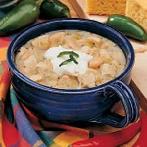 Spicy White Chili Recipe