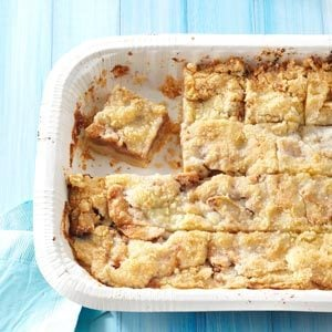 Apple Kuchen Bars Recipe