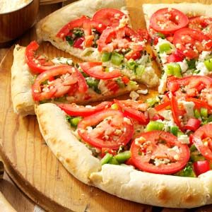 Four-Cheese Pizza Recipe