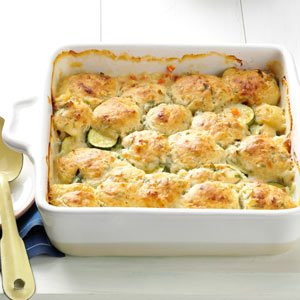 Summer Vegetable Cobbler Recipe