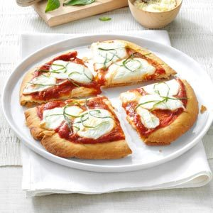Personal Margherita Pizzas Recipe