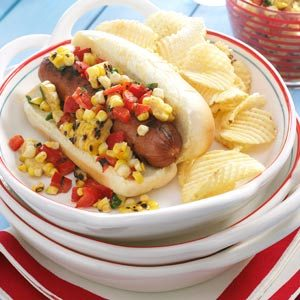 Grilled Corn Relish Recipe