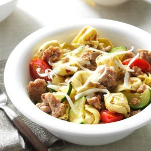 Turkey Tortellini Toss Recipe