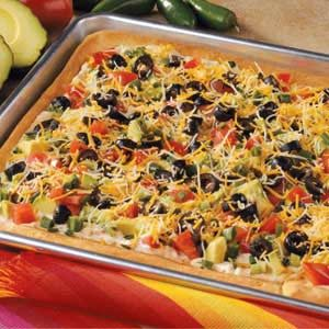Taco Pan Pizza Recipe