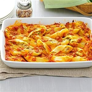 Five-Cheese Jumbo Shells Recipe