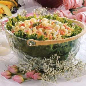 Creamy Crab Salad Recipe