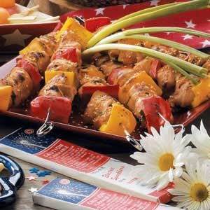 Sesame Chicken Kabobs Recipe