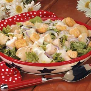 Caesar Chicken Potato Salad Recipe
