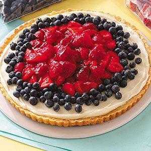 Patriotic Fruit Pizza Recipe