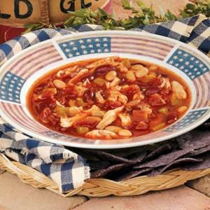 Red, White and Blue Chili Recipe