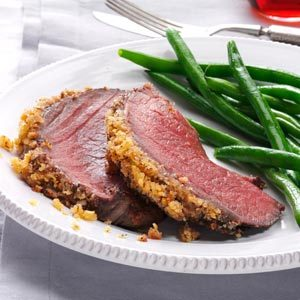 Italian Crumb-Crusted Beef Roast Recipe