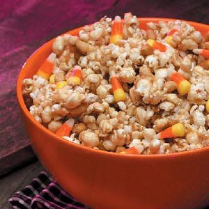 Three-in-One Popcorn Crunch Recipe