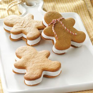 Gingerbread Ice Cream Sandwiches Recipe