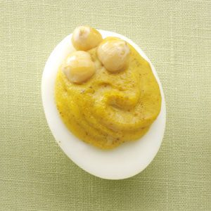 Slim Curried Deviled Eggs Recipe
